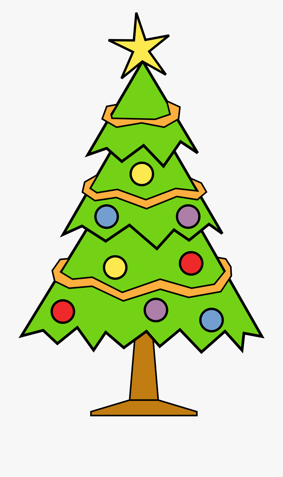 Christmas Tree Clip Art To Download.