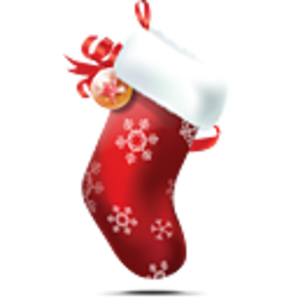 Clipart Images For Butterflies And Christmas Stockings.