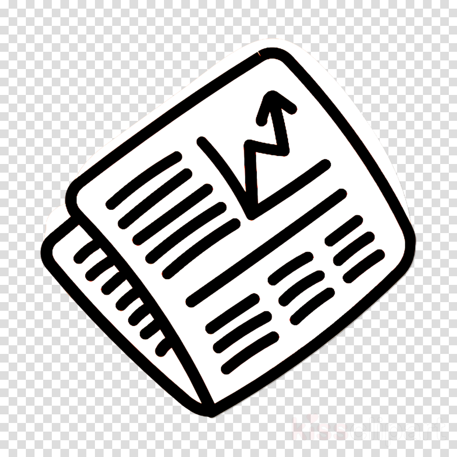 market icon news icon newspaper icon clipart.