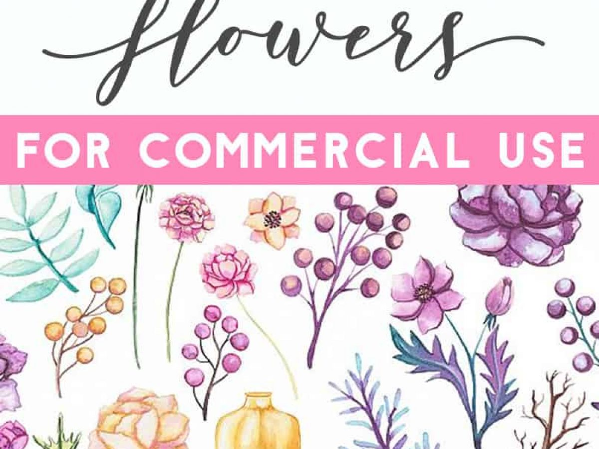 500+ Free Flower Clipart Images.