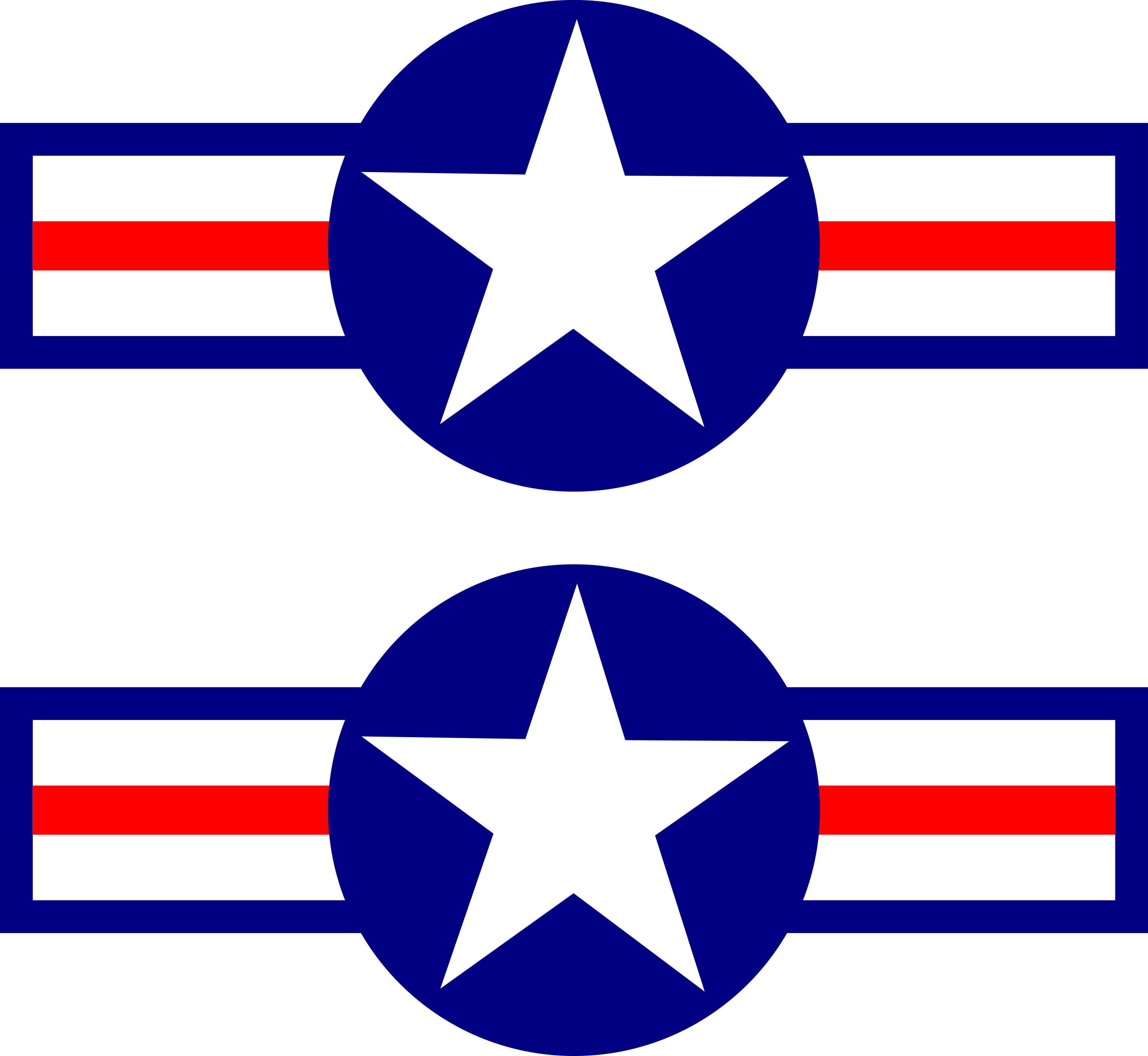 Air Force Stripes Clipart.