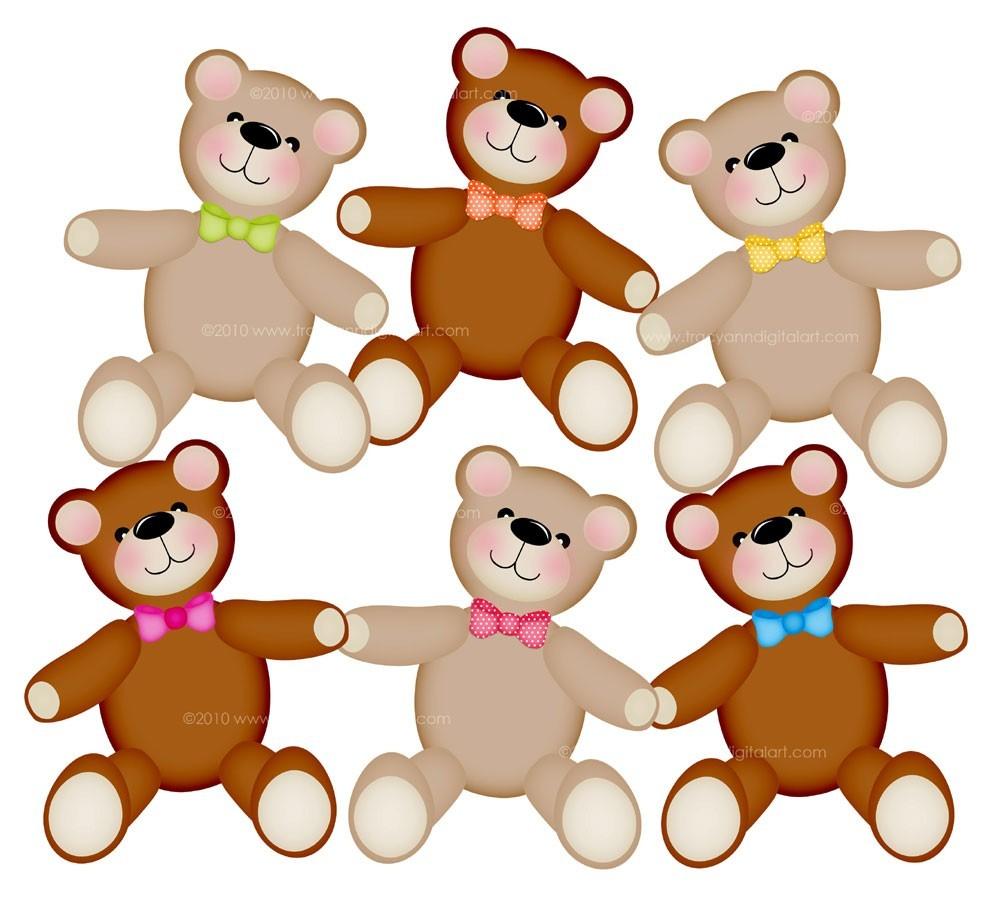 Teddy bears clipart 2 » Clipart Station.