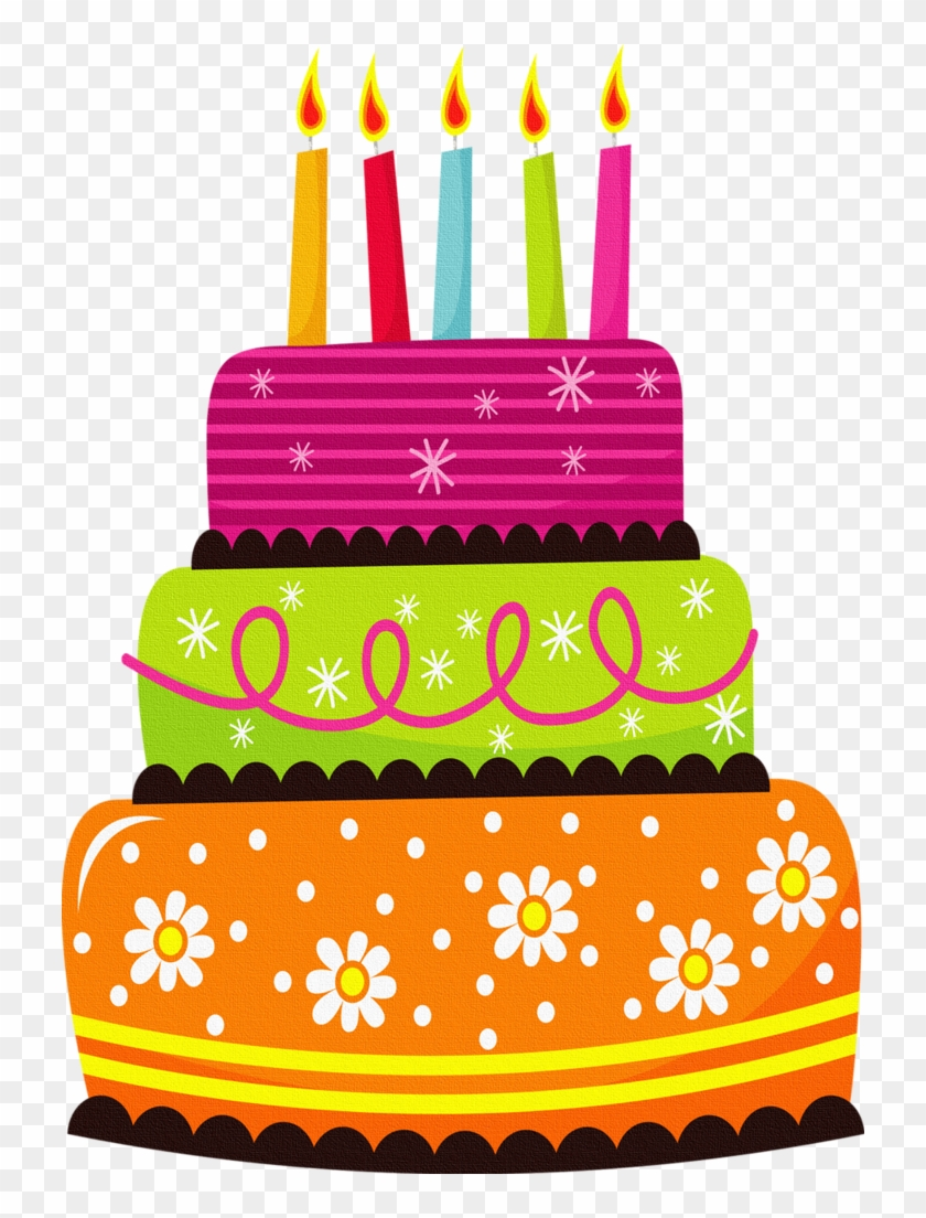 Cat Clipart Birthday Cake.