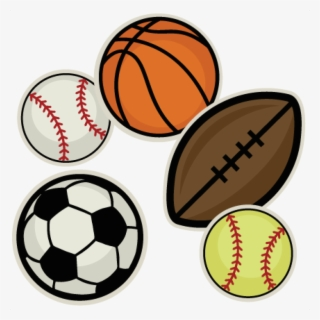 Free Sports Balls Clip Art with No Background.