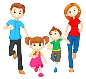 Family Members Clipart.