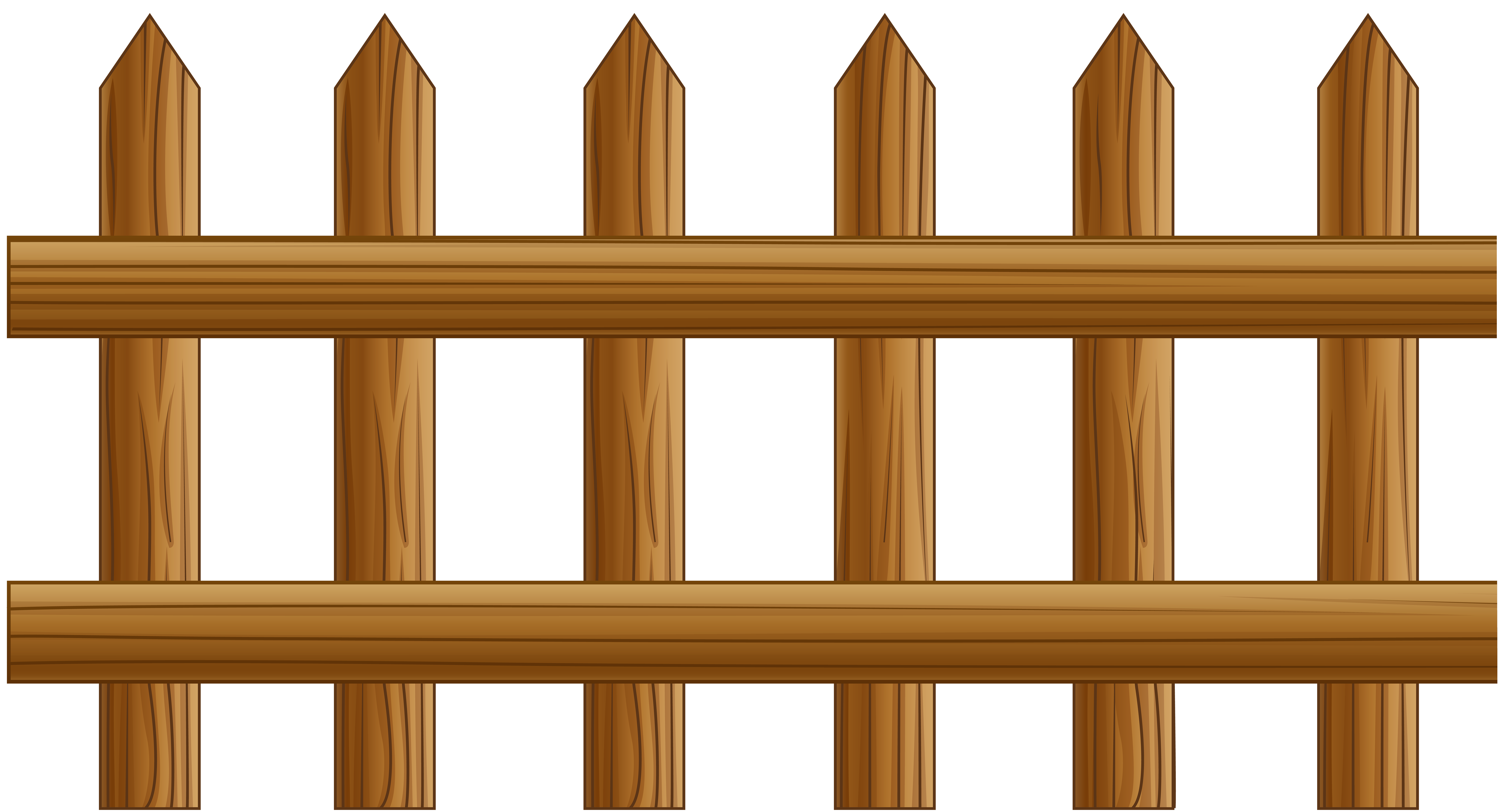 Fence Clip Art PNG Image.