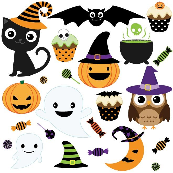 Free halloween clipart halloween illustrations and pictures.