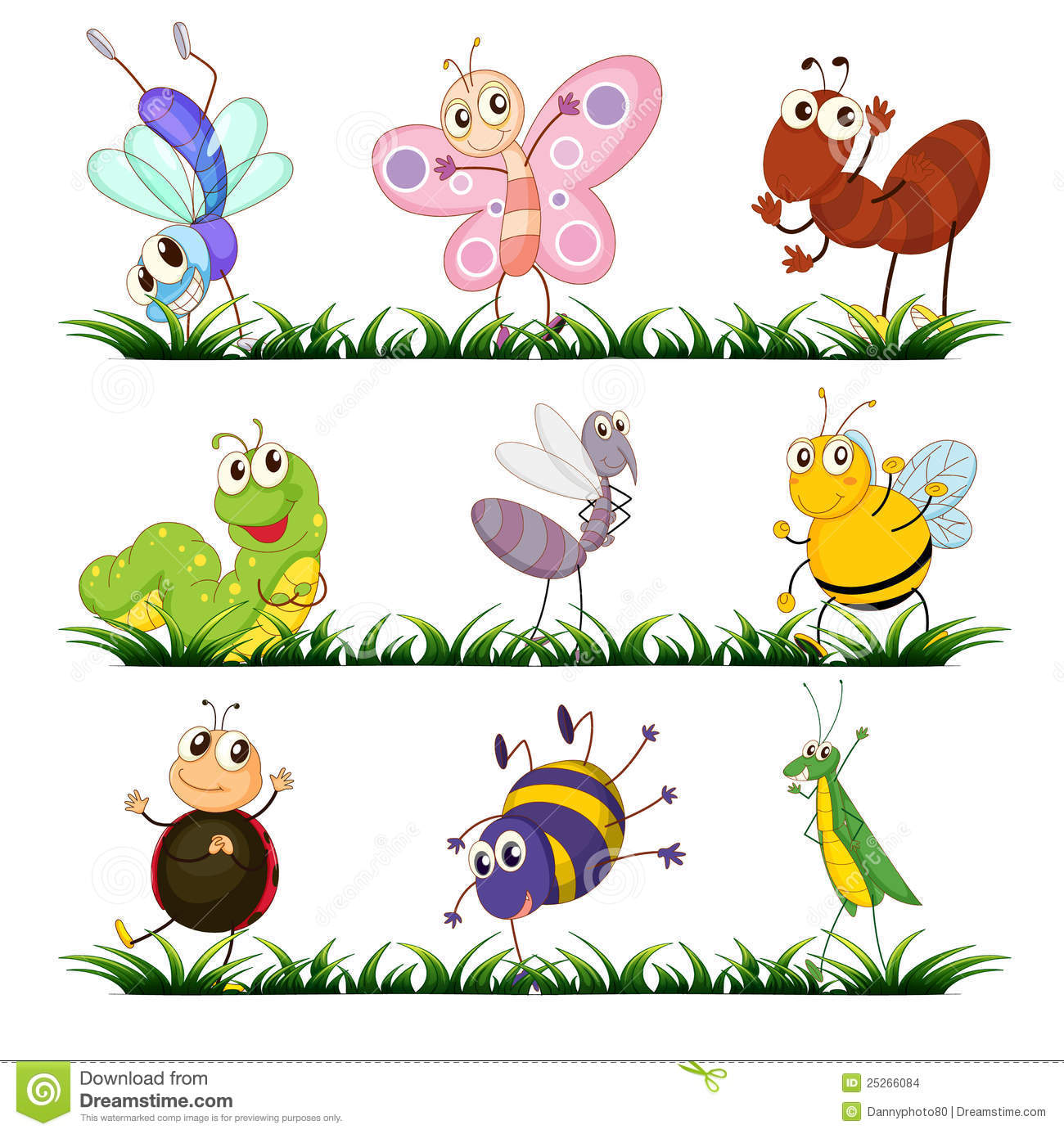 Insects clipart 9 » Clipart Station.