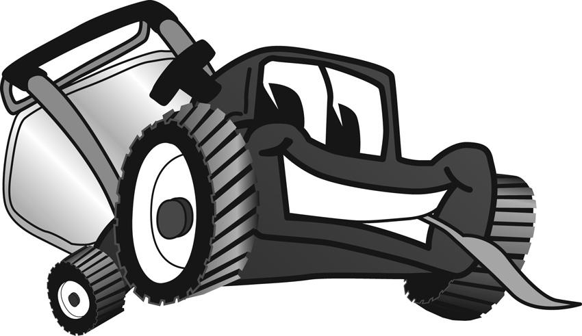 Showing post & media for Cartoon lawn care clip art.