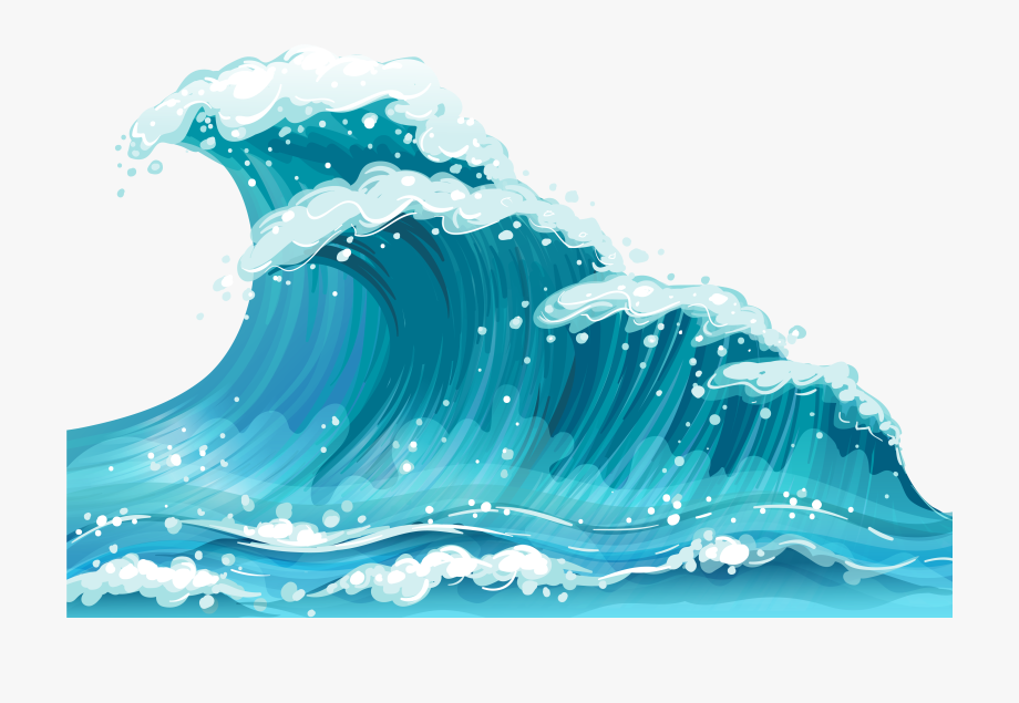 Clipart Waves Transparent.