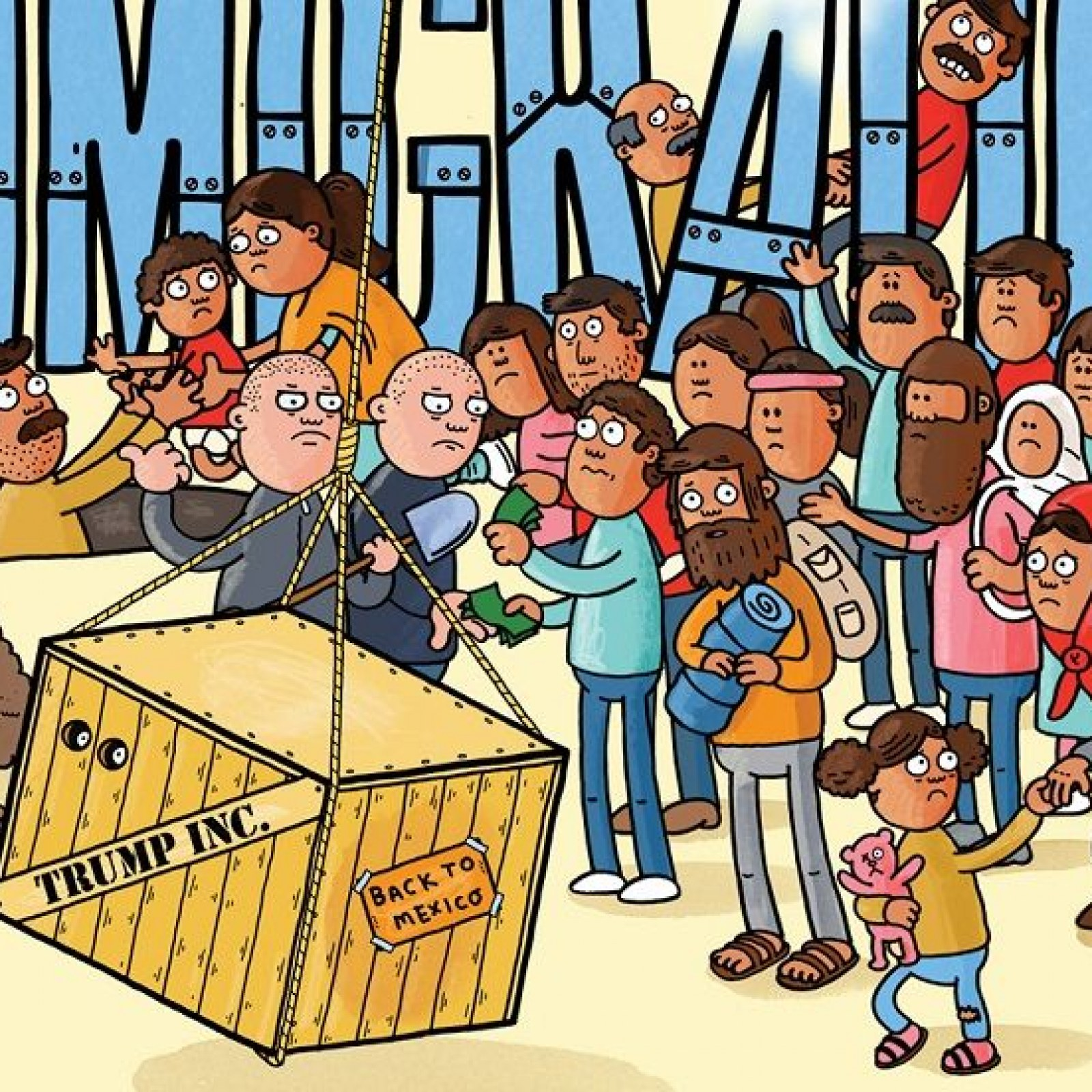 Collection of free Immigrating clipart undocumented.
