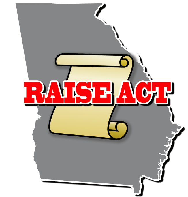 With \'Raise\' Act, GA Senator Proposes Change to Legal.