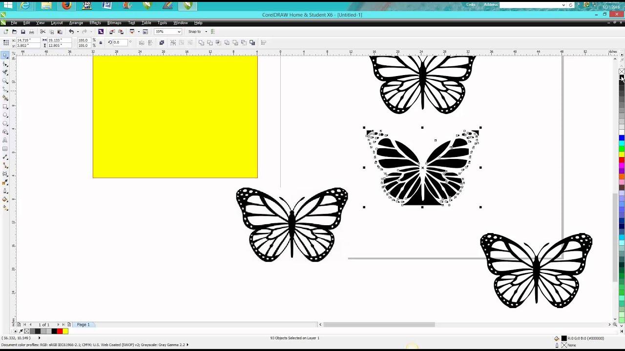 Corel Draw Tips & Tricks Clip Art to Vector Art.