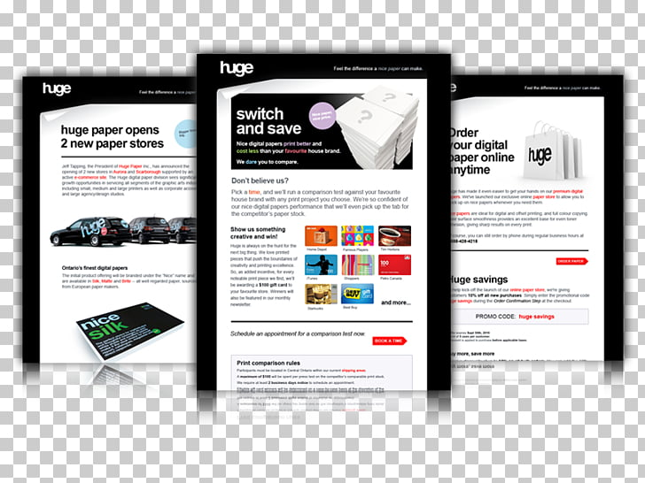 Web page HTML email Advertising campaign, email PNG clipart.