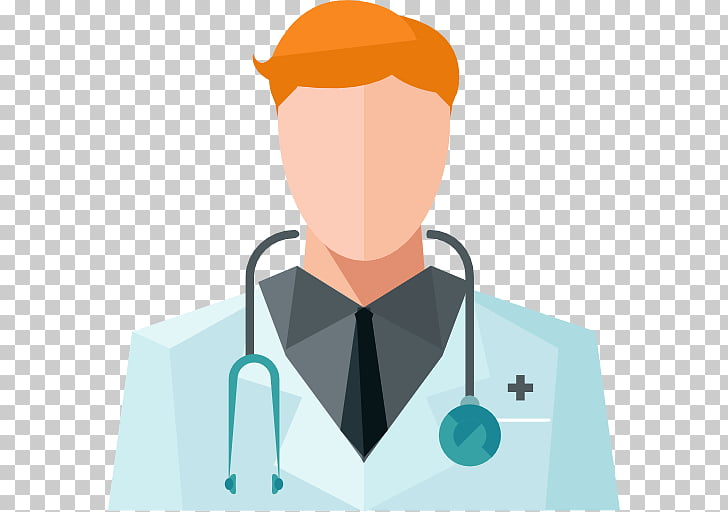 ICO Avatar Scalable Graphics Icon, Doctor with stethoscope.