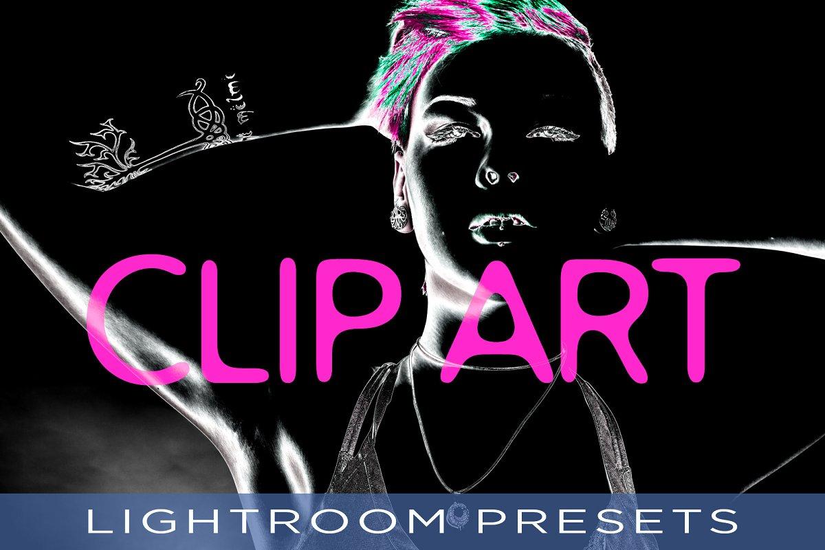 Clip Art Lightroom Presets.