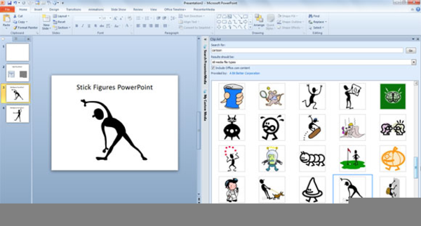 Microsoft Powerpoint Clipart Gallery.