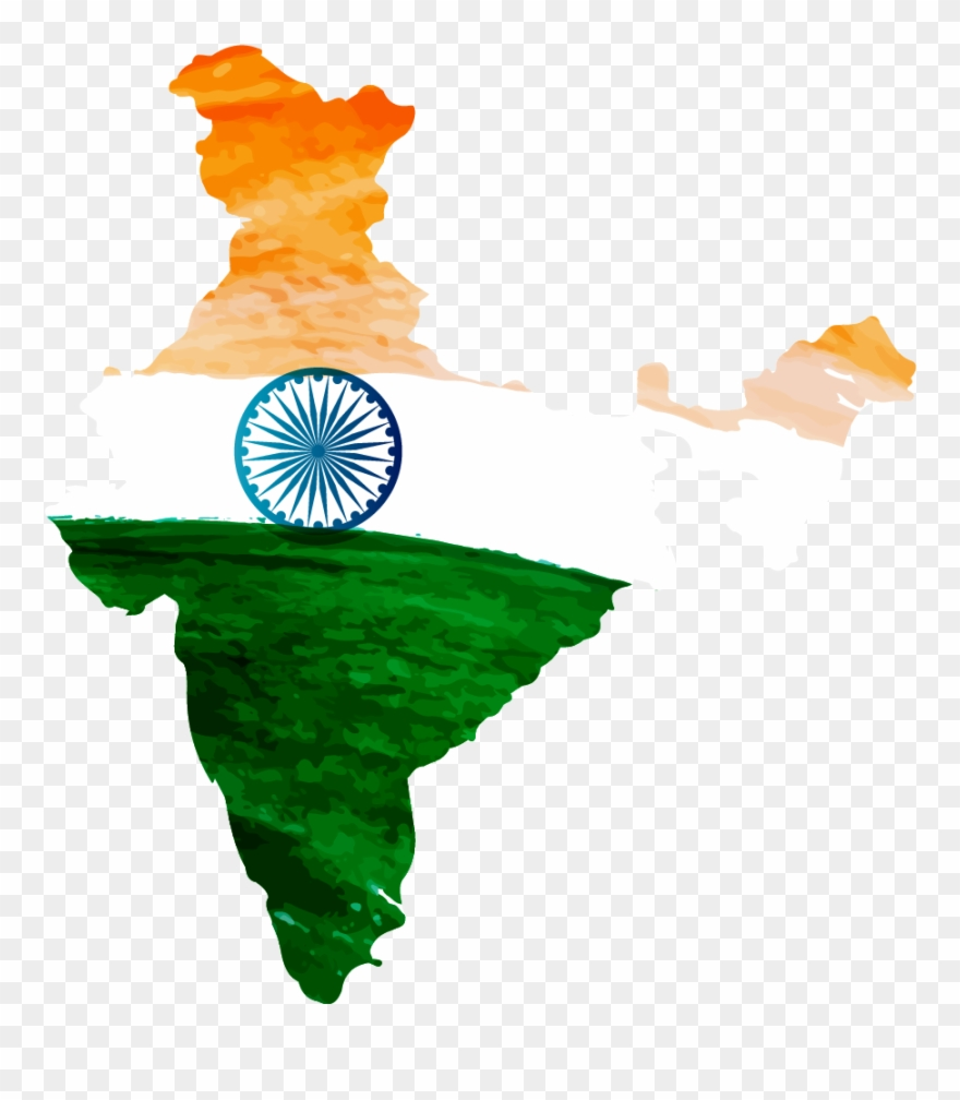 Indian Flag Clipart Png Image.