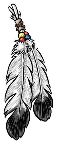 19+ Indian Feathers Clipart.