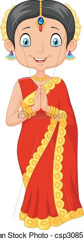 Indian girl Vector Clip Art Illustrations. 5,145 Indian girl clipart.