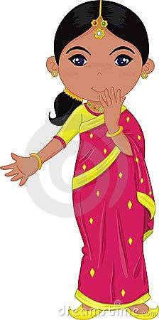 Clipart indian girl 4 » Clipart Portal.