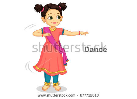 Indian girl clipart 6 » Clipart Station.