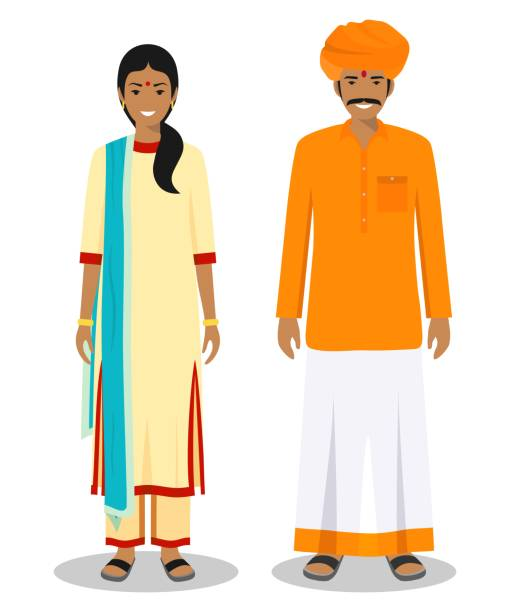 Best Indian Man Illustrations, Royalty.