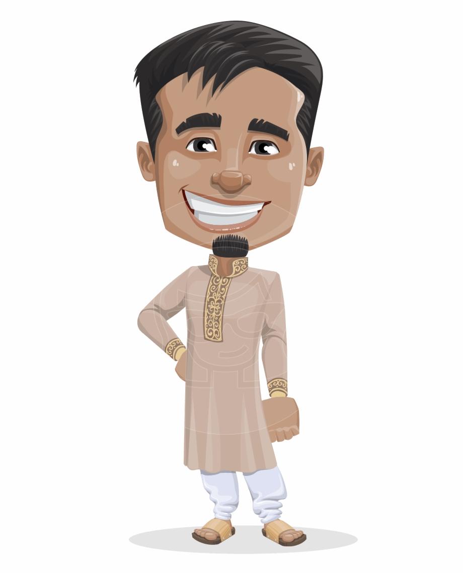 Indian Cartoon Character.