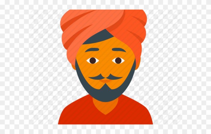 Hindu Clipart Turban.
