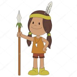 Download niño indio vector clipart Clip art.