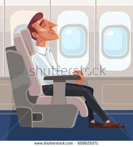 Inside Airplane Stock Images, Royalty.