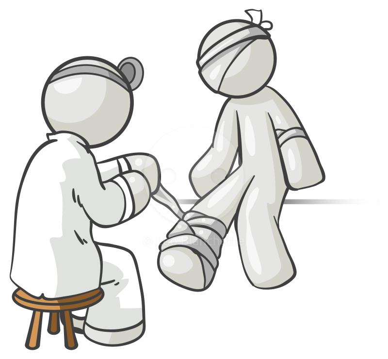 Injury clipart injured patient, Injury injured patient.