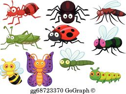 Insects Clip Art.