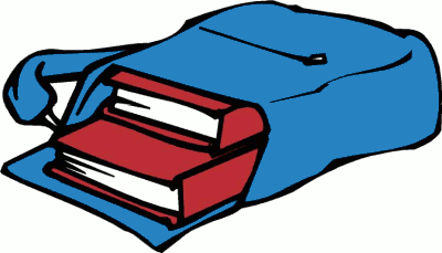 clip art with books inside.