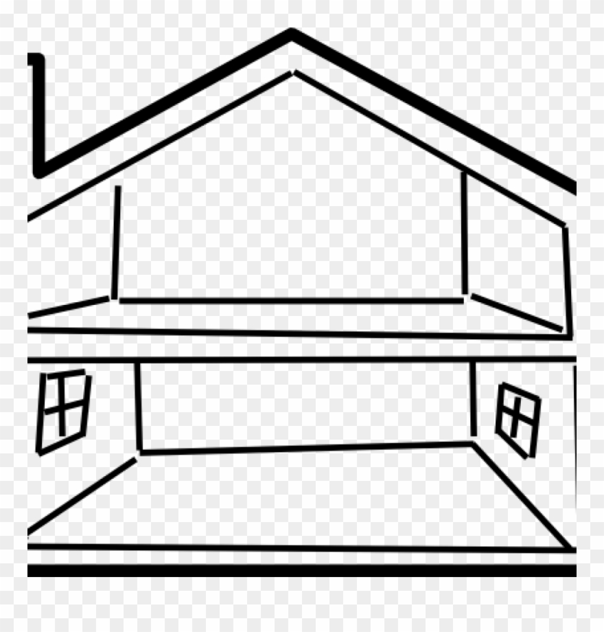 Clipart Inside House 12 Outline.