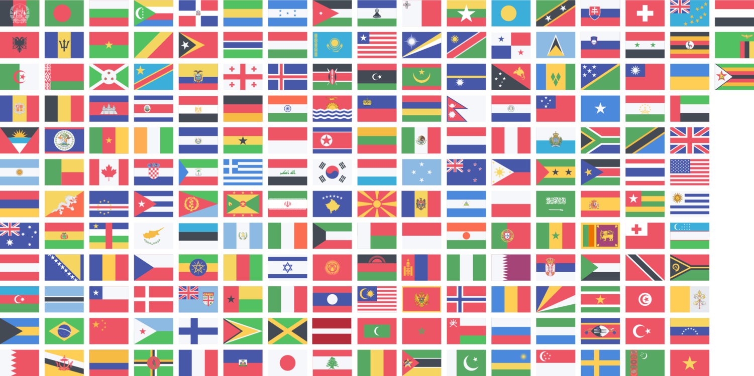 Country Clipart International Flag.