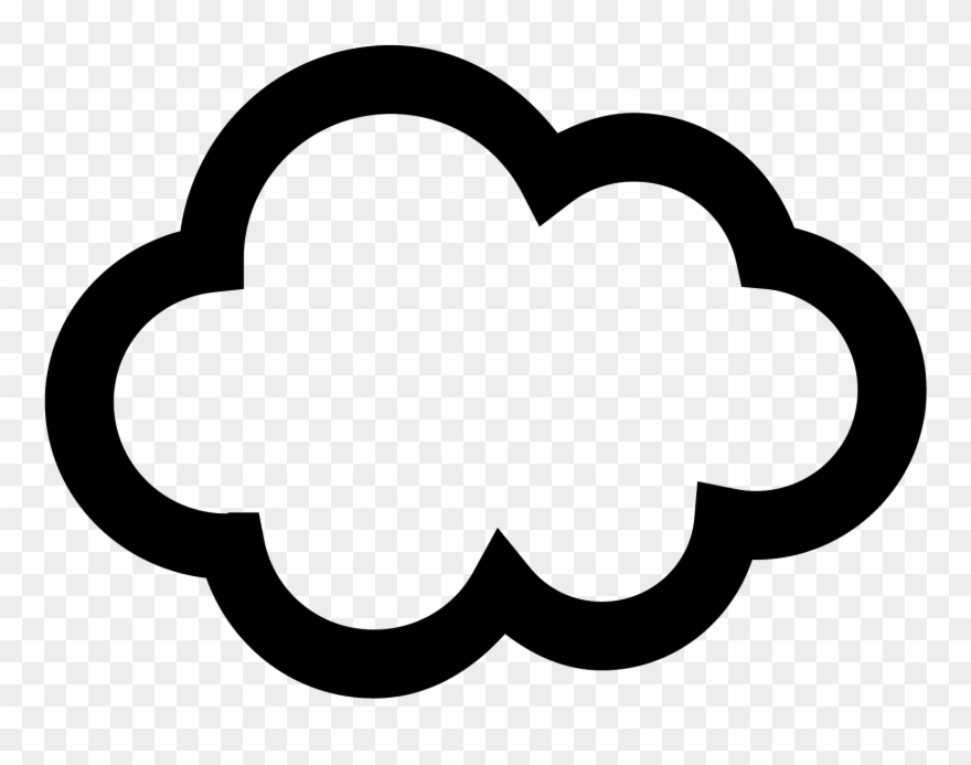Cloud Icon Free Download Png And Vector.