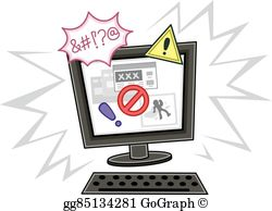 Internet Safety Clip Art.