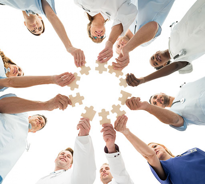 Importance of interprofessional teamwork.