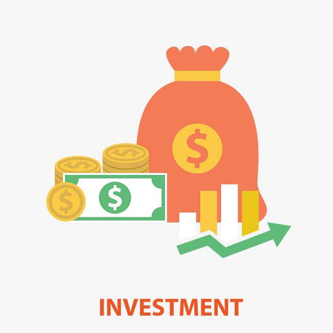 Vector Investment Money Illustration in 2019.