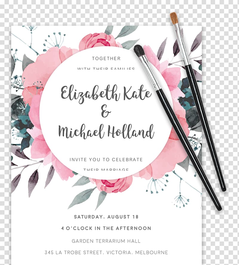 Wedding invitation Floral design Convite Template, wedding.