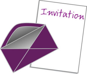Photo : Free Invitation Clipart Image.