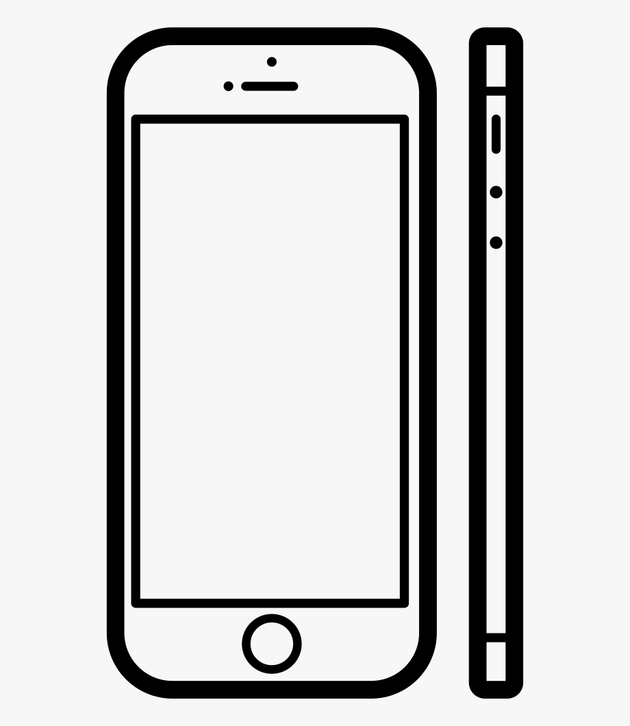 Apple Iphone Off Clipart.