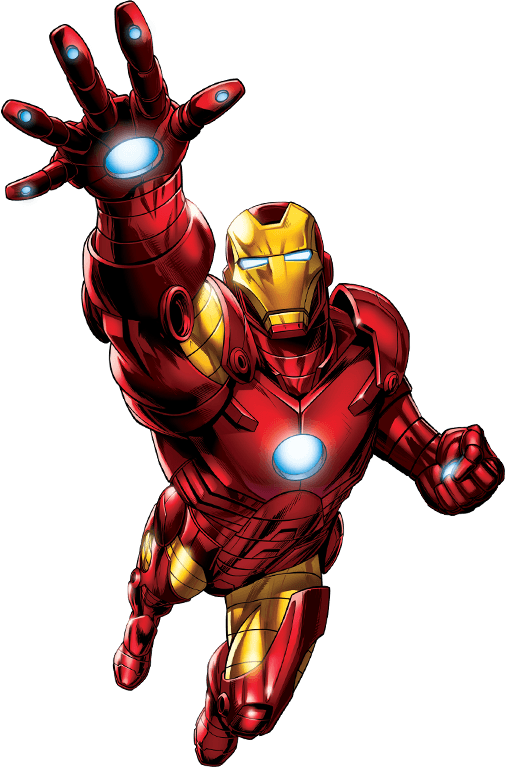 Iron Man Hd High Quality Clipart Image Png.