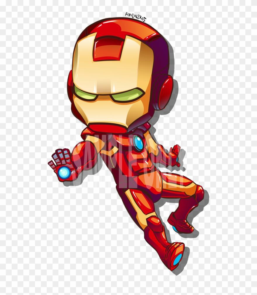 Ironman Chibi Png.