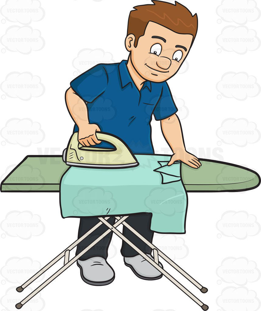 Ironing clipart 5 » Clipart Station.