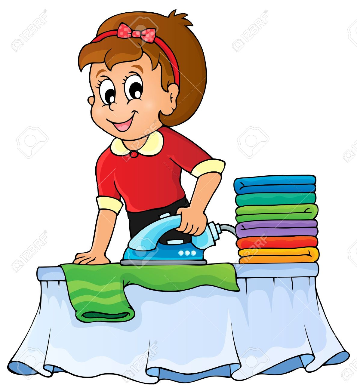 Ironing clothes clipart 3 » Clipart Station.