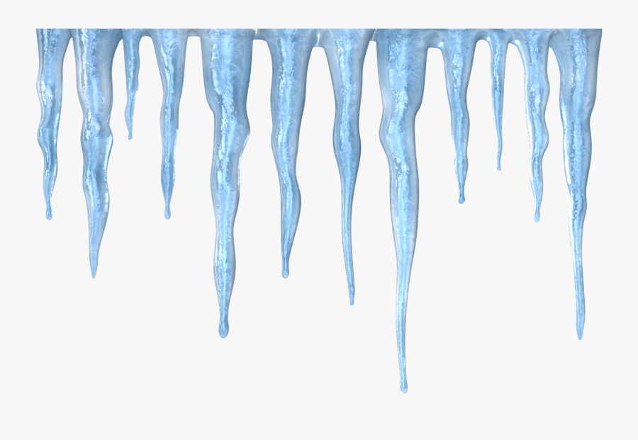 Transparent Icicles Png.