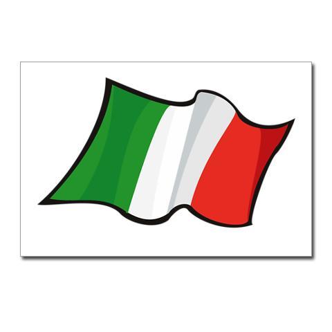 Clip Art Italian Flag.