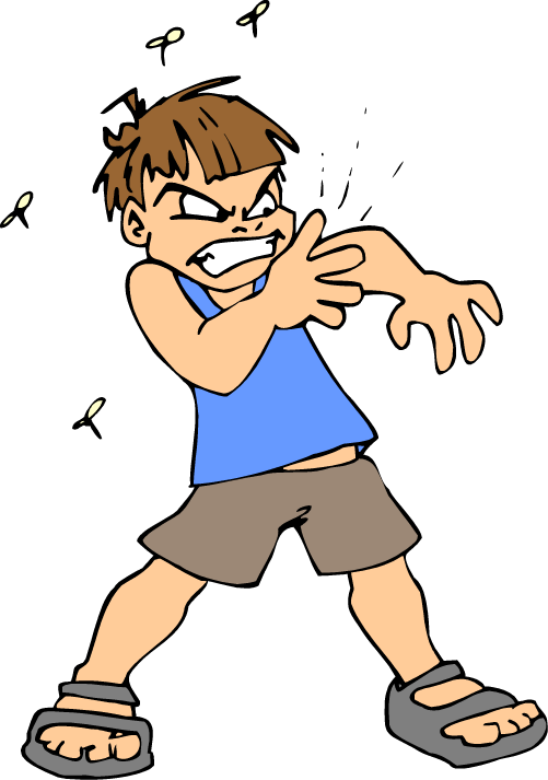 Itchy Arm Clipart.